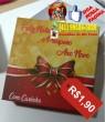 Caixinha Personalizada Natal Tradicional